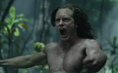 Tarzan je v najnovších záberoch pre veľkolepé dobrodružstvo kráľom džungle, ktorý musí zachrániť svoju milovanú Jane