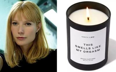 Tato svíčka prý voní jako její orgasmus. Gwyneth Paltrow prodává další bizarní produkt