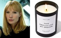 Táto sviečka vraj vonia ako jej orgazmus. Herečka Gwyneth Paltrow predáva ďalší bizarný produkt