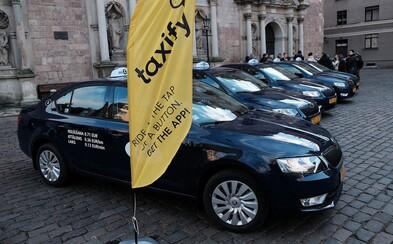 Taxify končí ve čtyřech českých městech. Zůstává jen v Praze