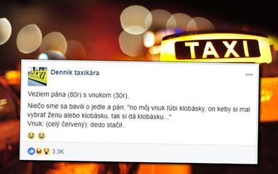 Taxikári so zákazníkmi prežívajú šialené zážitky. Delia sa s príbehmi, ako ich pomočil cudzí muž, no dokážu nastúpiť i do zlého auta