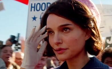 Ťaživá psychologická dráma Jackie sľubuje aj v druhom traileri herecký koncert oscarovej Natalie Portman
