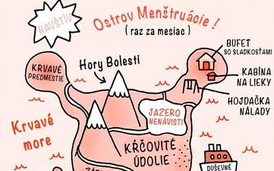 Těchto 10 vtipných ilustrací trefně zachycuje, co prožíváme každý měsíc