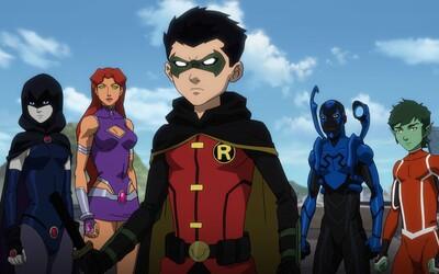 Teen Titans se musí postavit Deathstrokeovi v traileru k animovanému filmu od DC