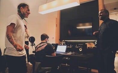 Tekashi 6ix9ine a Kanye West byli spolu ve studiu. Pravděpodobně se dočkáme společné skladby