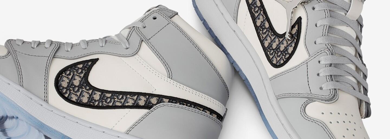 Tenisky Dior x Air Jordan 1 budú najluxusnejšou spoluprácou roku 2020