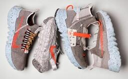 Tenisky, na ktorých výrobu použili výhradne továrenský odpad. Nike vydáva 4 siluety s futuristickým dizajnom