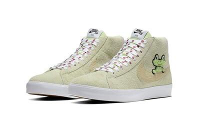 Tenisky Nike SB Blazer ve spolupráci s Frog Skateboards jsou nejočekávanějším párem příštích dní