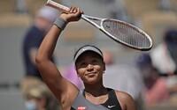 Tenistka Naomi Osaka kvůli depresím nebude mluvit s médii