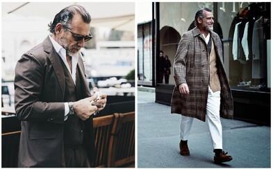 Tento padesátník tě přesvědčí o tom, že móda není jen záležitostí pro mladé