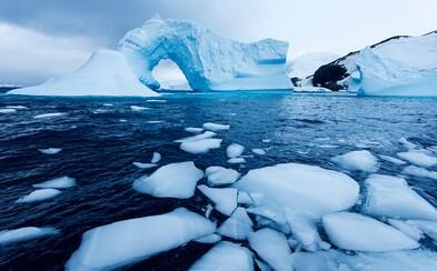 Ledovce kvůli teplé vodě tají 100krát rychleji, než vědci předpokládali