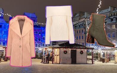 Teplé bundy, štýlové kabáty alebo elegantné topánky, v ktorých si užiješ vianočné trhy naplno