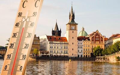 Teploty v Česku dosáhly téměř 40 stupňů Celsia!