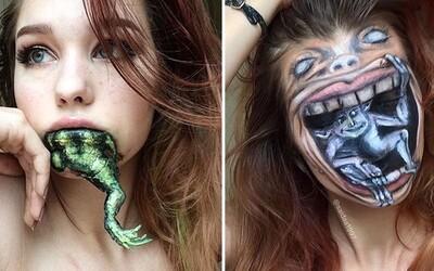 Teprve 19letá umělkyně, která dokáže s makeupem dělat divy. Saida se přitom všechno naučila úplně sama
