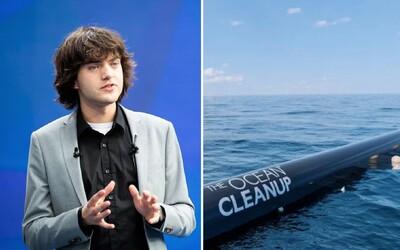 Teprve 23letý Nizozemec spouští obrovský projekt na čištění oceánů. Velké plovací sítě nás mají zachránit před plasty