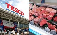 Tesco vo veľkom zatvára pulty s mäsovými výrobkami. Príčinou je rastúci počet vegánov
