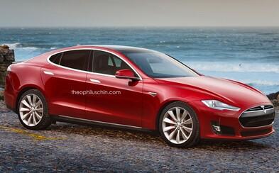 Tesla chystá elektrickou konkurenci trojkovému BMW. Bude Model III vypadat takto?