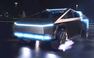 Tesla Cybertruck sa objavila priamo v legendárnom filme Návrat do budúcnosti. Vďaka digitálnym efektom