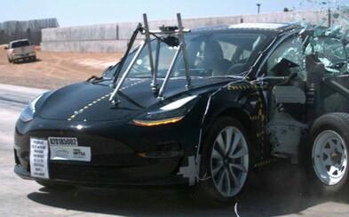 Tesla Model 3 je najbezpečnejším autom na svete, zistili americké testy