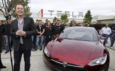 Tesla plánuje  příští rok otevřít pobočku na Slovensku. Zda zamíří i do Česka, Elon Musk neupřesnil