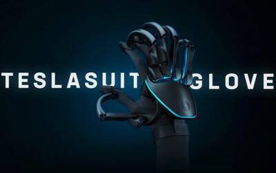 Teslasuit má být rukavice k VR headsetům. Umožní ti dotýkat se 3D objektů