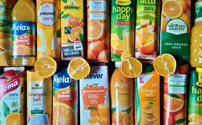 Test 100% pomerančových džusů: Značky nejsou všechno. Levný a kvalitní džus koupíš i do 25 korun