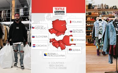 Textile House: Najväčšia slovenská sieť sekáčov, v ktorej sa lovia unikátne kúsky oblečenia