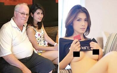 Thajská pornoherečka sa rozvádza so 72-ročným milionárom, aby sa vrátila na scénu. Nebavil ju život bez sexu a lákajú ju aj väčšie prsia