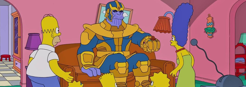 Thanos sa po Avengers vrhol aj na Simpsonovcov. Prežila len Maggie