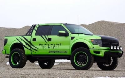 The Beast: Extémny Ford F-150 SVT Raptor!