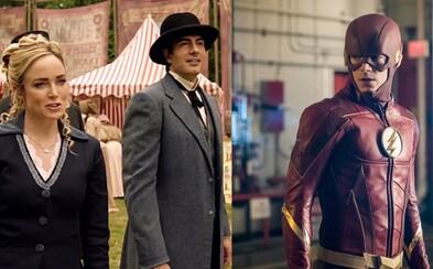 The Flash a Legends of Tomorrow lákajú na budúcotýždňové epizódy novými trailermi
