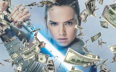 The Last Jedi překonává miliardovou hranici a stává se druhým nejziskovějším filmem série