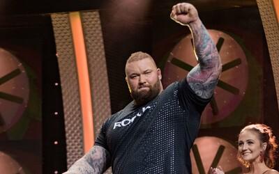 The Mountain piatykrát zvíťazil v súťaži Europe's Strongest Man. Mŕtvy ťah s 350 kilogramami bol preňho hračkou