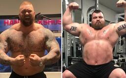 The Mountain sa v ringu pobije s Eddiem Hallom, ktorého rekord v mŕtvom ťahu prekonal s váhou 501 kg
