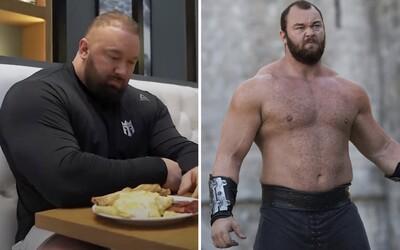 The Mountain z Game of Thrones přijme denně 10 tisíc kalorií v 6 jídlech. Takto se stravuje nejsilnější muž planety
