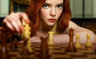 The Queen's Gambit je nejsledovanější miniseriál na celém Netflixu