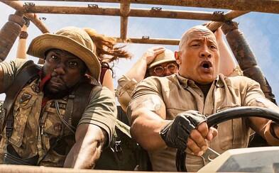 The Rock a Kevin Hart blbnou v akčním traileru pro Jumanji 3. Dobrodružství v džungli a vtipné hlášky vystřídá boj o život