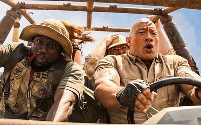 The Rock a Kevin Hart blbnú v akčnom traileri pre Jumanji 3. Dobrodružstvá v džungli a hláškovanie vystrieda boj o život