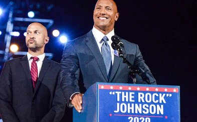 The Rock zrejme zabojuje o miesto amerického prezidenta. Oficiálne sa už zapojil do volebnej kampane