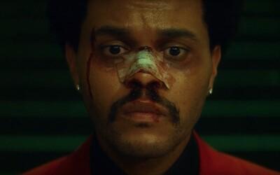 The Weeknd by mohl dostat roli v celovečerním filmu. Psychopatický výraz ho neopouští ani těsně před albem After Hours