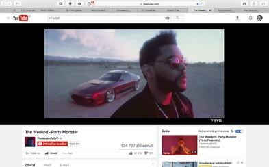 The Weeknd vypúšťa klip k bangeru Party Monster plný žien a psychedelických záberov