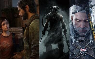 The Witcher 3, The Last of Us alebo Skyrim. Odhaľujeme najlepšie hry 21. storočia podľa kritikov a recenzentov