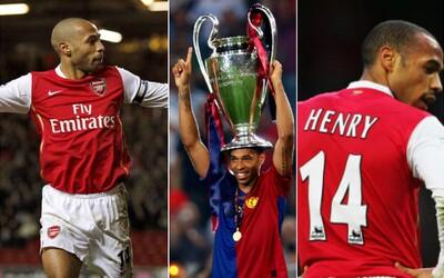 Thierry Henry - najlepší strelec histórie Arsenalu a útočník, akého budú Gunners hľadať ešte poriadne dlho