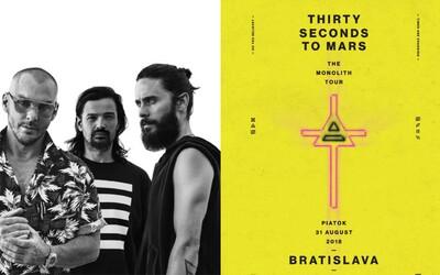 Thirty Seconds to Mars vydávajú nový album! Už čoskoro zavítajú aj do Bratislavy