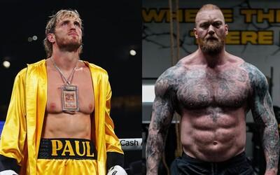 Thor Björnsson chce boxovat s Loganem Paulem. Výškový rozdíl prý tolik nevadí, možná by byl ale problém s váhou