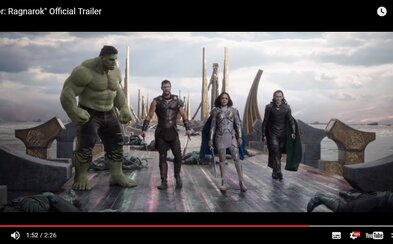 Thor, Hulk a Loki společně bojují proti silám, které chtějí zničit jejich domov v úžasném traileru na jednu z nejočekávanějších marvelovek