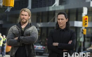 Thor s Lokim bok po boku, Heimdall v bojovej pohotovosti či zúrivý Hulk. Komiksovka Thor: Ragnarok nás zasypáva ďalšou várkou obrázkov