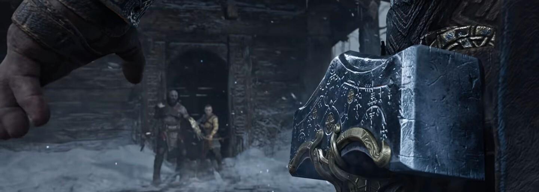 Thor v God of War: Ragnarok bude obrovský boh s telom strongmana. Zvládne ho Kratos zabiť?
