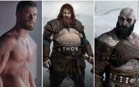 Thor v God of War: Ragnarok bude obrovský hromotluk. Zvládne ho Kratos zabít?
