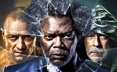 Thriller Glass ukáže až 20 rôznych osobností Jamesa McAvoya a použije nikdy nevidené zábery z Unbreakable